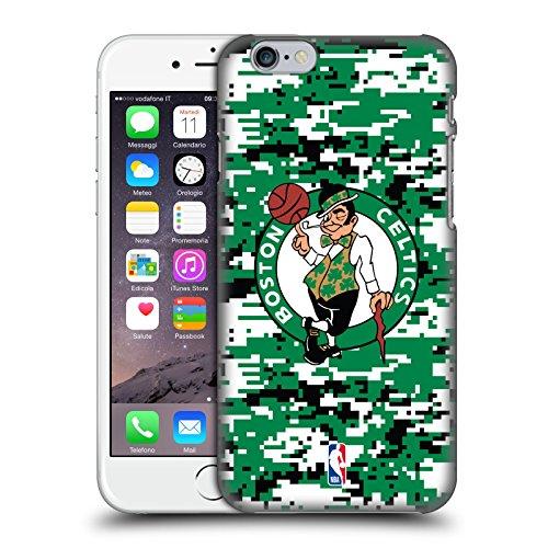 Official NBA Digital Camouflage Boston Celtics Hard Back Case for Apple iPhone 6 / 6s (Celtics Snap Boston)