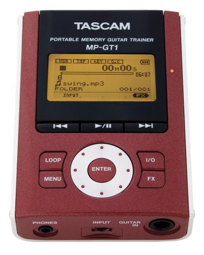 Tascam Bass Trainer - Tascam MPGT1 Portable MP3 Guitar Trainer