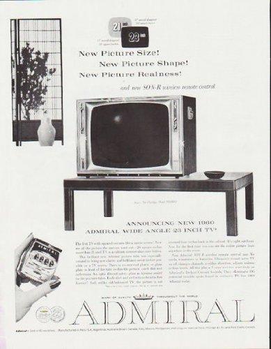 1959 Admiral Television Ad