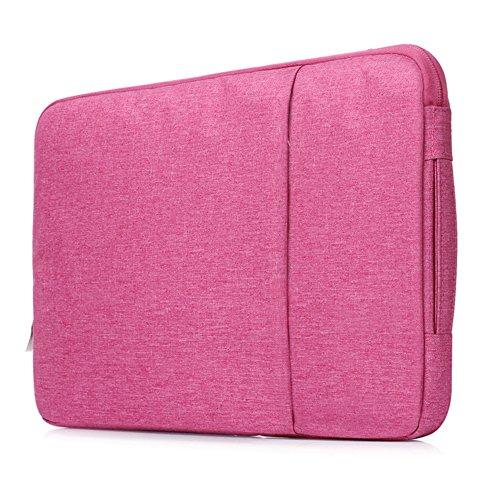 Protective Netbook Case - Businda Laptop Bag Macbook Air 13,Ultrabook Netbook Tablet,Business Handbag for Men & Women,Hot Pink