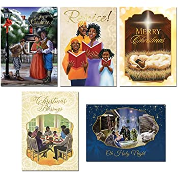 african american expressions assorted boxed christmas cards 15 cards 5 x 7 a 202 includes c 898 c 905 c 937 c 940 c 942