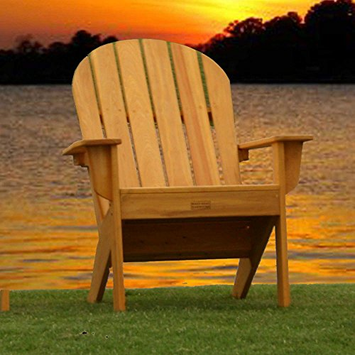 - Essentials by DFO Cypress Adirondack Chair - Honey Gold