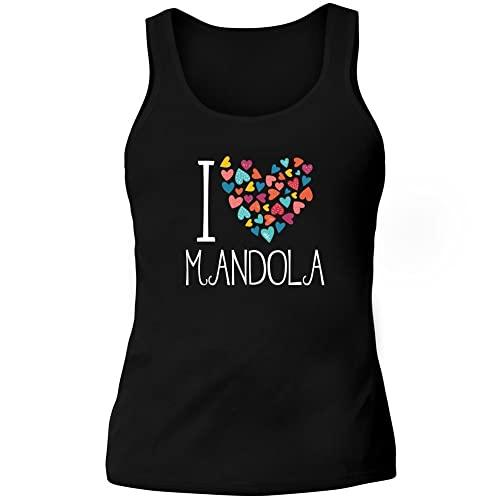 Idakoos I love Mandola colorful hearts - Strumenti - Canotta Donna