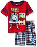 Thomas & Friends Toddler Boys 2 Piece Thomas Tee and Plaid Short Set