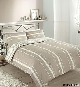 Qp set gc stripe juego de cama para cama individual funda n rdica 200 x 135 cm y funda de - Fundas nordicas disenos modernos ...