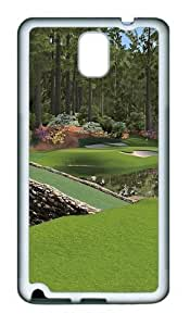 12th Augusta National TPU Custom Samsung Galaxy Note 3/Note III/N9000 Case and Cover - White