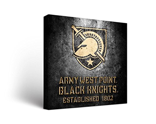 Victory Tailgate Army Black Knights Canvas Wall Art Museum Design (12x12) by Victory Tailgate