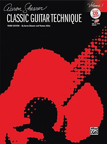 Classic Guitar Technique, Vol 1: Book & CD (Shearer...
