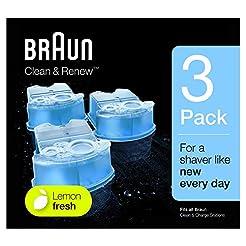 Braun Clean & Renew Refill Cartridges CC...