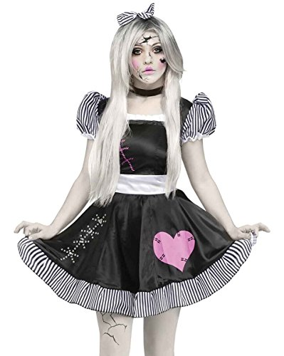 7c98bb33831 Fun World Costumes Women s Broken Doll Adult Costume - Funtober