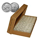 Direct Fit Airtight 24mm Coin Holder Capsules for QUARTERS - CASE QTY: 1000