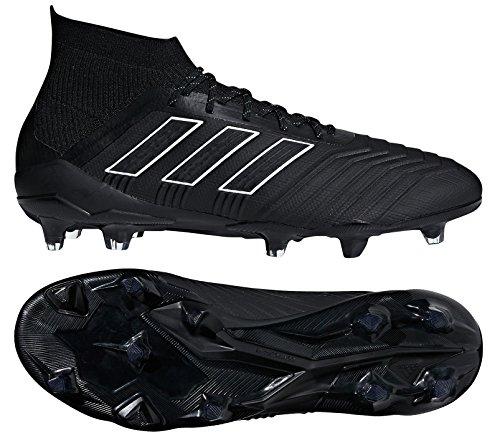 Predator Mens Soccer Cleats - adidas Men's Predator 18.1 FG Soccer Cleat (Sz. 10.5) Black
