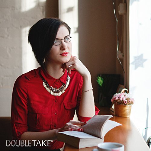 DOUBLETAKE 2 Pack Compact Folding Readers Reading Glasses w Case - 1.50x by DOUBLETAKE (Image #5)