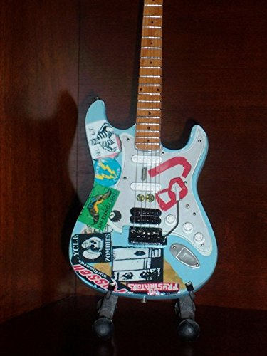 Mini Guitar GREEN DAY BILLIE JOE ARMSTRONG Display Famous Mini Guitars