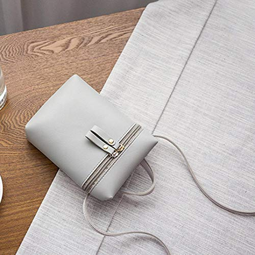 GREY Messenger Womens Bafaretk Zipper Shoulder Bag Solid Bag Crossbody BLACK Small Bag Fashion Bags BqU0OO