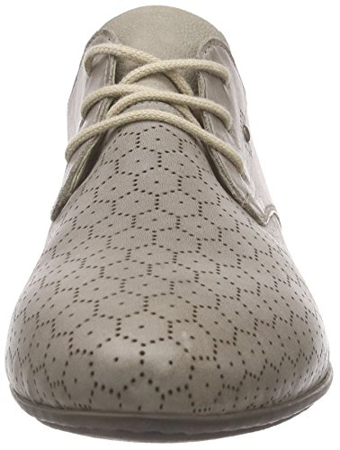 Rieker Mujer 58225 De Derby Gris Zapatos Women Cordones x4xgBH