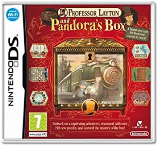 Nintendo Professor Layton And Pandoras Box - Juego (Nintendo DS, Rompecabezas): Amazon.es: Videojuegos