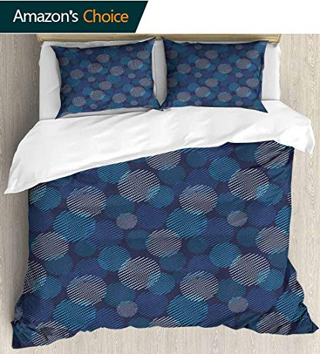 Abstract Duvet Covers Mandala,Box Stitched,Soft,Breathable,Hypoallergenic,Fade Resistant 100% Cotton Beding Linens For Kids Children(79