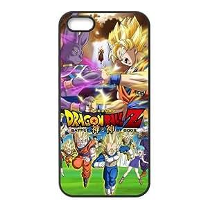 LeonardCustom Protective Hard Rubber Coated Phone Cover Case for iPhone 5 5S , Dragon Ball Z -LCI5U224