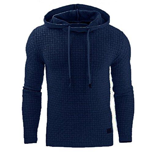 577Loby Male Long Sleeve Solid Color Hooded Men's Sweatshirt Hoodie Tracksuit Sweat Coat Casual Sportswear