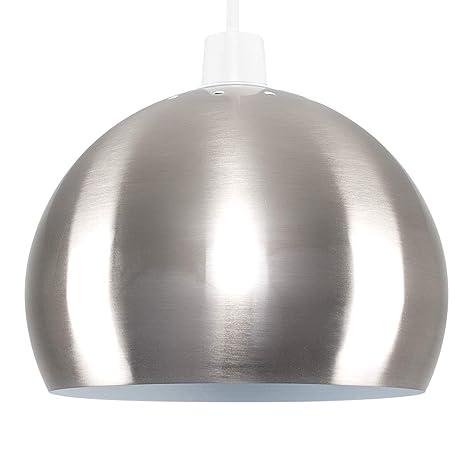 MiniSun - Moderna mini pantalla de lámpara de techo, del afamado estilo Arco - De metal cromado