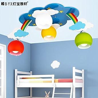 Nubes de Rainbow Childrens lámparas de techo dormitorios ...
