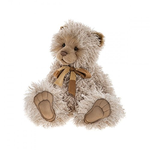 Curly, 51cm Jointed Plush Teddy Bear Charlie Bears Large Plush Collectible Toy Soft Cute Animal (Curly Teddy)
