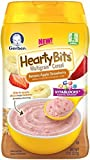 (US) Gerber Baby Cereal Hearty Bits Multigrain Cereal Banana Apple Strawberry, 8 Ounce (Pack of 3)