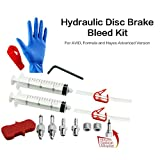 Juscycling Hydraulic Disc Brake Bleed Kit Advanced Version for AVID, Hayes and Formula