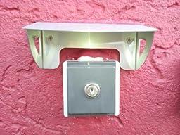Schutzdach für Haussprechanlage für Steckdose Spritzschutz