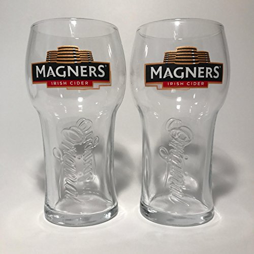 Cider Glass - Magners Irish Cider - 20 Ounce Glass - Set of 2
