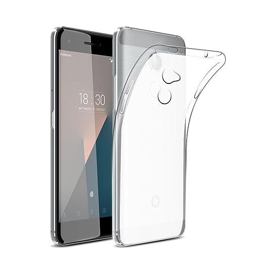 2 opinioni per Vodafone Smart N8 Caso Protettivo, TopACE Ultra Slim Molle di TPU Trasparente