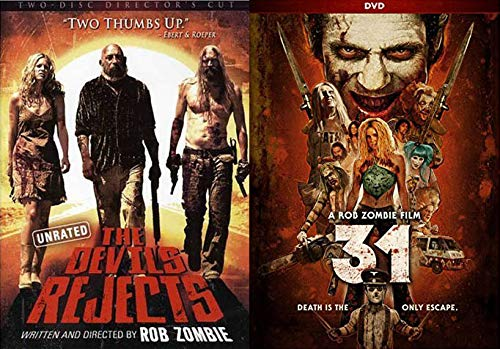 From The Demented Mind of Rob Zombie: The Devils Rejects (2 Disc Director's Cut) & 31 (Double Feature 2 DVD- Movie Set) -