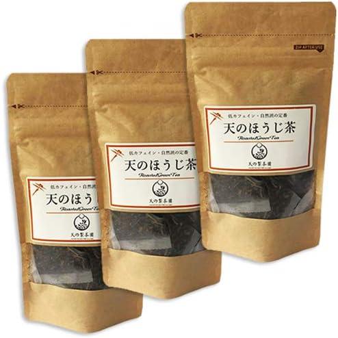 天のほうじ茶 ティーバッグ (2gx12個 )×3袋 天の製茶園 国産 無農薬