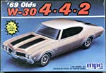 '69 Olds W-30 4-4-2 2 in 1 1/25 Vintage 1988 Model Kit by MPC Ertl