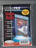5 Ultra Pro Team Bags Resealable (5 100ct Packages) - For Storing Baseball, Football, Hockey Cards. Great for Top Loaders