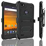 Best customerfirst Rugged Smartphones - ZTE Blade Force Case with [Built In Screen Review