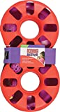 Kong Kitty EIGHT TRACK Catnip Attack Chase + Rattle Balls Cat Toy (CA42)