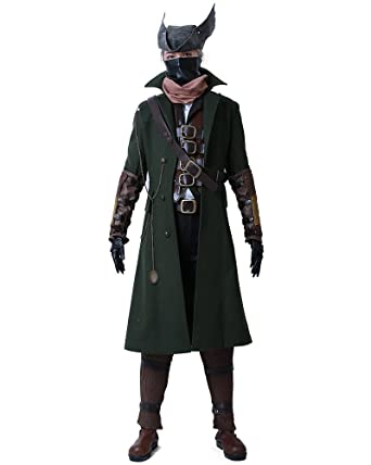 miccostumes mens bloodborne the hunter cosplay costume men