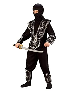 Ninja Warrior Costume Niño, L 146-158: Amazon.es: Juguetes y ...