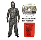 Hec Suit Best Deals - HECS Human Energy Conceal 3 piece Suit - WITH DVD & KOOZIE - Realtree, X-Large