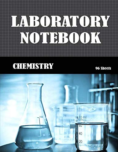 Laboratory Notebook: Blank Graph Paper Quad Rule 5x5  (Large 8.5