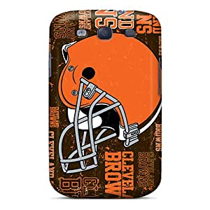 Samsung Galaxy S3 XHM6649ayGn Customized Vivid Cleveland Browns Skin Protective Hard Cell-phone Case -MansourMurray