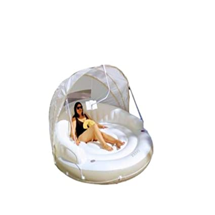 Amazon.com: Inflatable Pool With Canopy With Shade Float ...