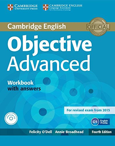 Objective Advanced Workbook with Answers with Audio CD: Amazon.es ...