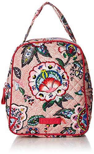 (Vera Bradley Iconic Lunch Bunch, Signature Cotton, Stitched Flowers)