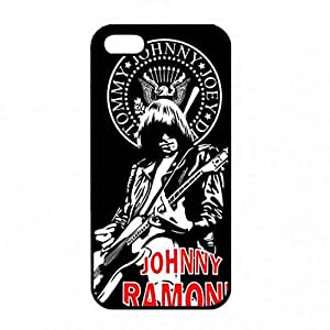 Phone Carcasa de telefono for Iphone 5/ Iphone 5s , Unique Design Ramones Phone Carcasa de telefono Cover