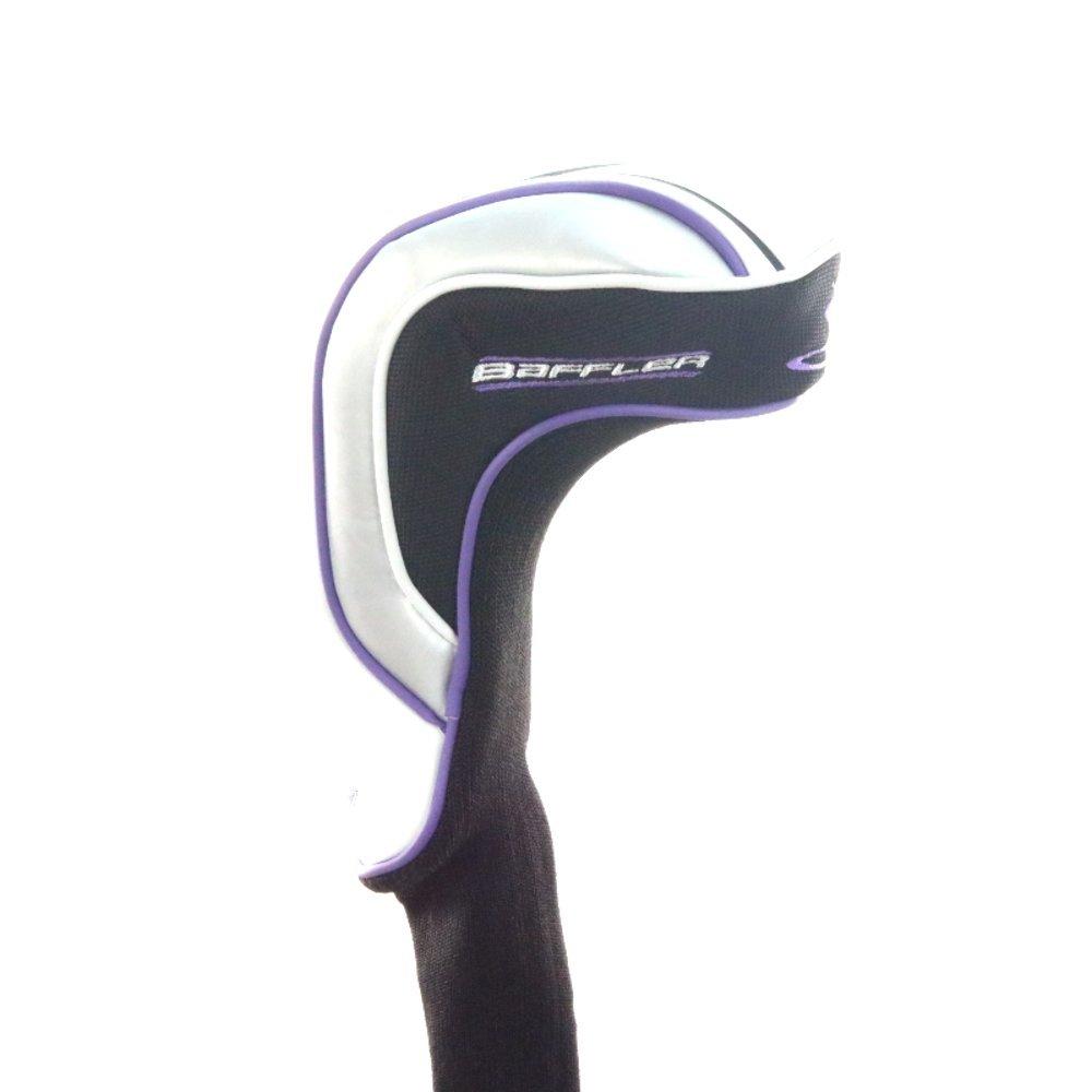 新しい女性用コブラBaffler XLブラック/ホワイト/パープルドライバーヘッドカバー B00N434GNM