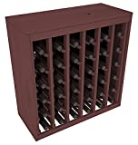 Wine Racks America® Ponderosa Pine 36 Bottle Deluxe. 13 Stains to Choose From! Review