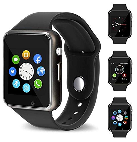 ... Touch Screen Bluetooth Smart Watch Smartwatch Phone Fitness Tracker SIM SD Card Slot Camera Pedometer Compatible iPhone iOS Samsung LG Android Men Women ...